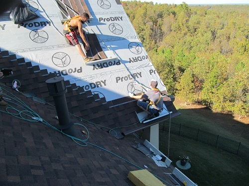 Barnes Roofing roof safety photo